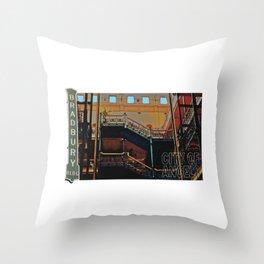 Bradbury Building Throw Pillow
