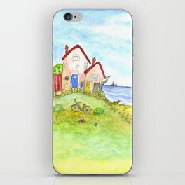 At the seaside iPhone Skin