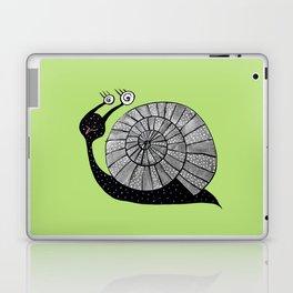 Cartoon Snail With Spiral Eyes Laptop & iPad Skin