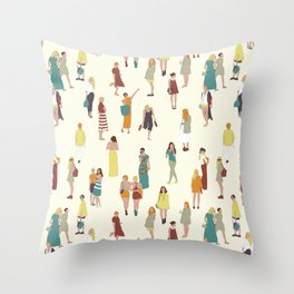 Ladies Throw Pillow