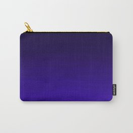Deep Dark Indigo Ombre Carry-All Pouch