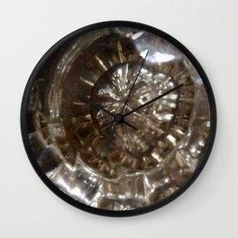 Glass door knob antique Wall Clock