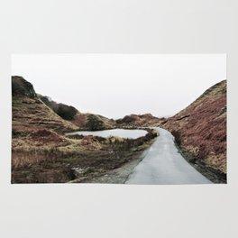 Road through Fairy Glen Rug