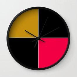 Unit 4 colors 1 Wall Clock