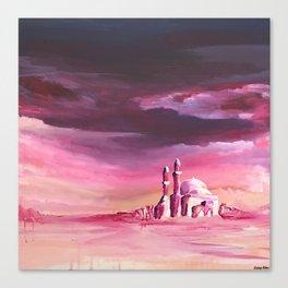Dreamy Mosque Canvas Print