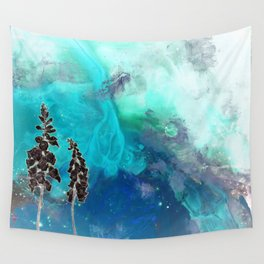 Inverted Foxglove Wall Tapestry