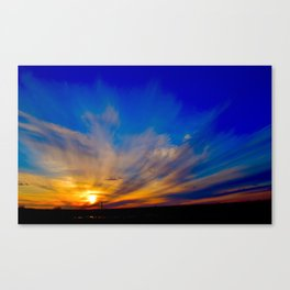 Magnificent Sunset Canvas Print