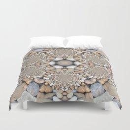 Kaleidoscope Heart Rock Design Duvet Cover