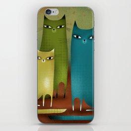 CAT STILL LIFE iPhone Skin
