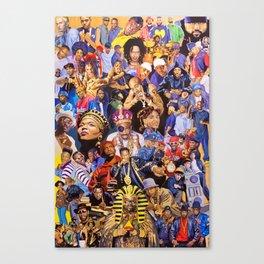 HIPHOP--LEGEND Canvas Print