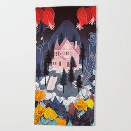 Coraline Beach Towel