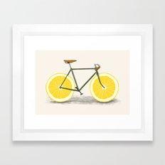 Zest Framed Art Print
