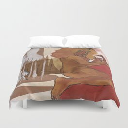 """""""Love This Giant"""" by Virgina McCarthy Duvet Cover"""