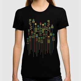 Overgrown flowers T-shirt