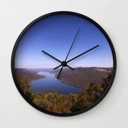 Burragorang Lookout Landscape Wall Clock