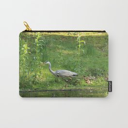 Heron Standing In Water Carry-All Pouch