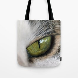 The Eye of the Domesticated Tyger Tote Bag