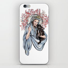 Carrie and Gary Fisher iPhone Skin