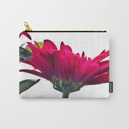 Red Chrysanthemum Flowers Carry-All Pouch
