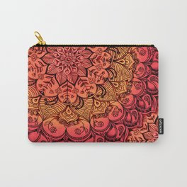 Ruby & Garnet Doodle Carry-All Pouch