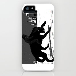 Svart-Alf iPhone Case