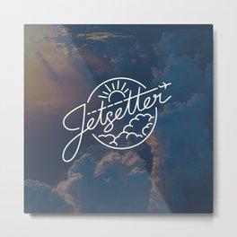 Jetsetter Sky Metal Print