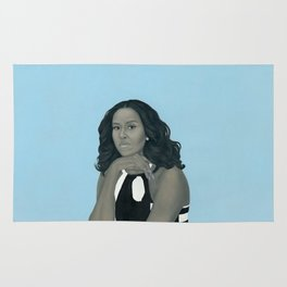First Lady Michelle Obama Rug