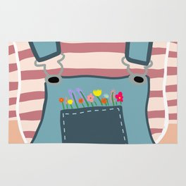 Pocket Full of FLOWERS Rug