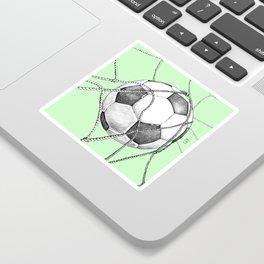 Goal in green Sticker