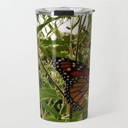 Feeding butterfly Travel Mug