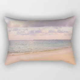 Dreamy Beach View Rectangular Pillow