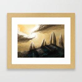Ray of Light 3 Framed Art Print
