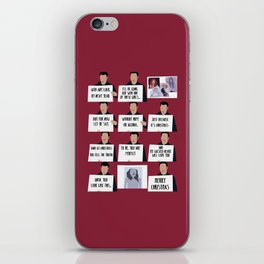 love actually iPhone Skin