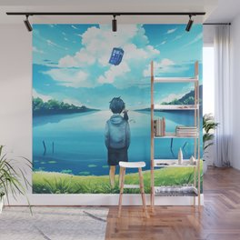 Watch The Tardis Flying Wall Mural