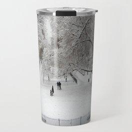Cold Serenity. Travel Mug