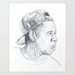 Jay Z - Go Home Art Print