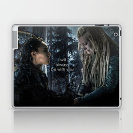 "Clexa: "" I will always be with you"" Laptop & iPad Skin"