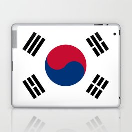 National flag of South Korea, officially the Republic of Korea, Authentic version - color and scale Laptop & iPad Skin