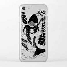 Wild & Free Clear iPhone Case