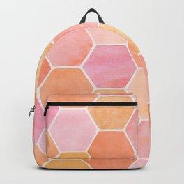 Desert Mood Hexagon Print Backpack