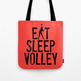 Eat Sleep Volley Tote Bag