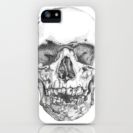 work & obey iPhone Case