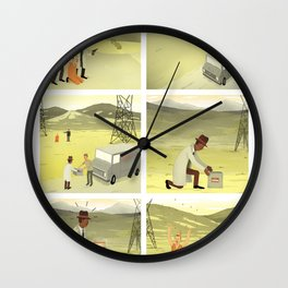What's in the box? Wall Clock