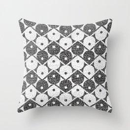 Barra da Tijuca - Calçadão Throw Pillow