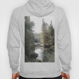 All the Drops form a River - landscape photography Hoody