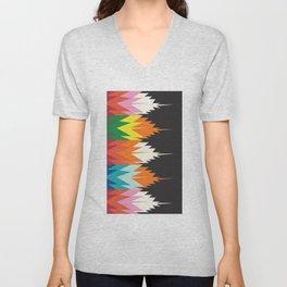 American Native Pattern No. 123 Unisex V-Neck