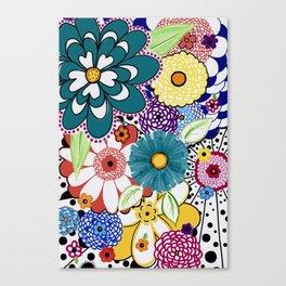 Bloomin' Flowers Canvas Print