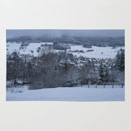 White Snowy Brotterode Rug