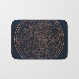Constellations of the Northern Hemisphere Bath Mat