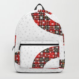 S is for Santa and Snow Backpack